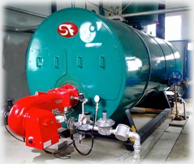 全自动燃油燃气热水锅炉制造